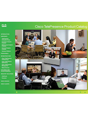 Cisco TelePresence Product Catalog